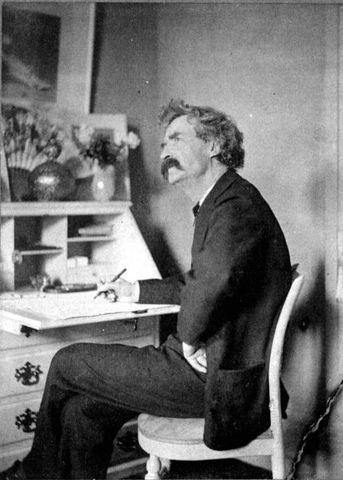Mark Twain publishes The Adventures of Huckleberry Finn