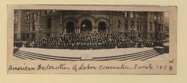 American Federtion of Labor formed