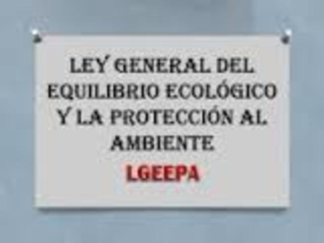 La Comisión de Ecología y Medio ambiente de la LVII Legislatura de la Cámara de Diputados, solicitó la reforma al articulo 39 de la LGEEPA