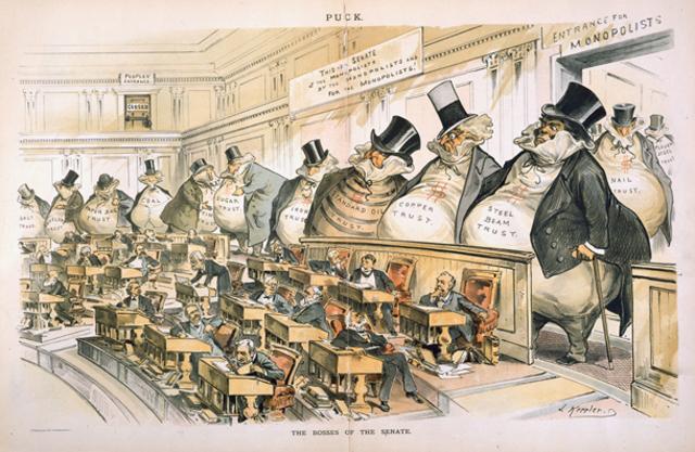 Sherman Anti-Trust Act passed
