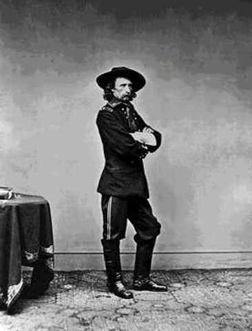 George Custer and little horn