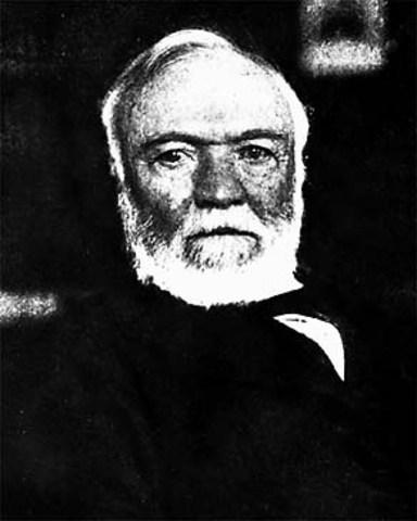"""Andrew Carnegie's """"Gospel of Wealth"""""""