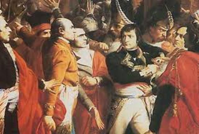 Napoleon Stages a Coup d'etat.