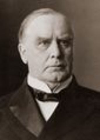 McKinley wins election of 1896