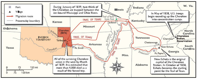 Indian Removal Act Signed by Jackson