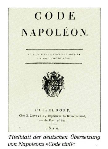 "Napoleon Introduces ""La Code Napoleon"""