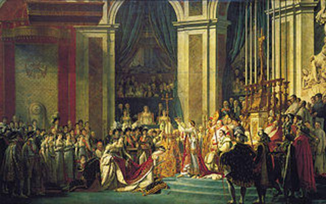 Napoleon Crowns Himself Emporer