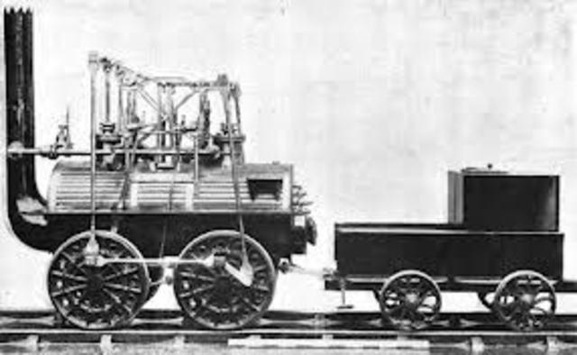 "George and Robert Stephenson Invent the ""Rocket"" Engine"