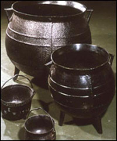 Abraham Develops Better Methods of Casting Iron