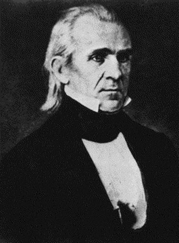 Polk defeats Clay