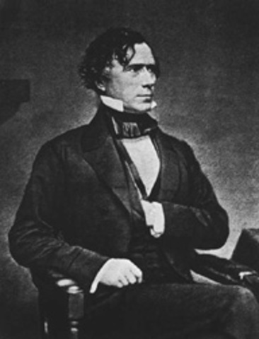 Franklin Pierce elected President