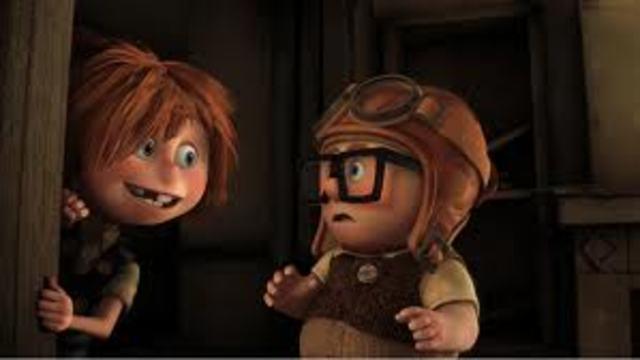 •Carl meets Ellie