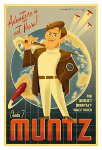 •Carl becomes a fan of Charles Muntz