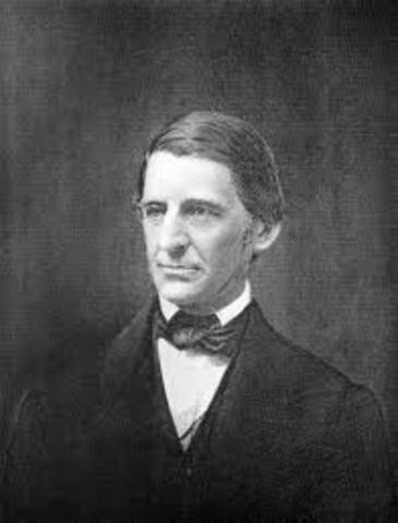 """Ralph Waldo Emerson, New Englander declares, """" I do not see how a barbarous community and a civilized community can constitute a state.  I think we must get rid of slavery or we must get ride of freedom."""""""