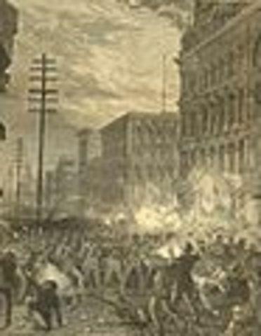 The Great Railroad Strikes begin