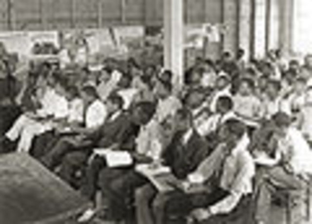 Booker T. Washington opens the Tuskegee Institute