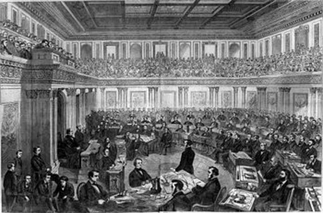 Congress Attempts to Impeach Johnson