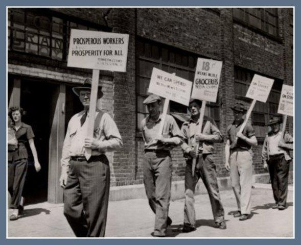 Railroad Worker Strikes