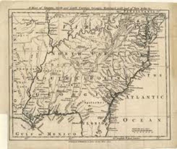 North Carolina formally separates from South Carolina