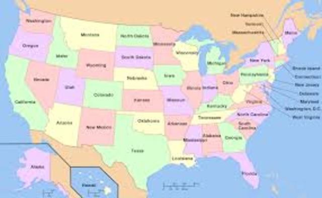 More States admitted into the United States