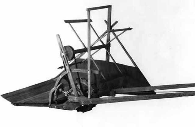 Cyrus McCormick invents the Mechanical Reaper