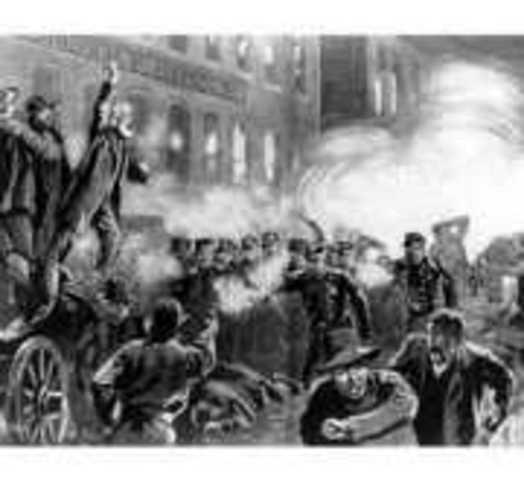 Anti Catholic Riot in Boston
