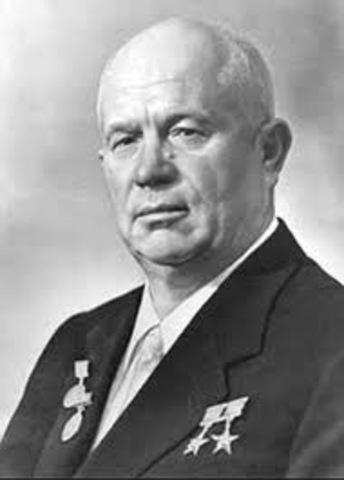 Khrushchev visits U.S. and denied access to Disneyland