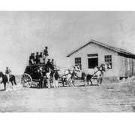Horse-Drawn Carriages become a Common Form of Transportation