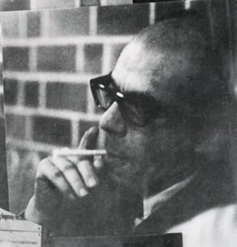 Eugenio Barney Cabrera crea, en la Escuela de Bellas Artes