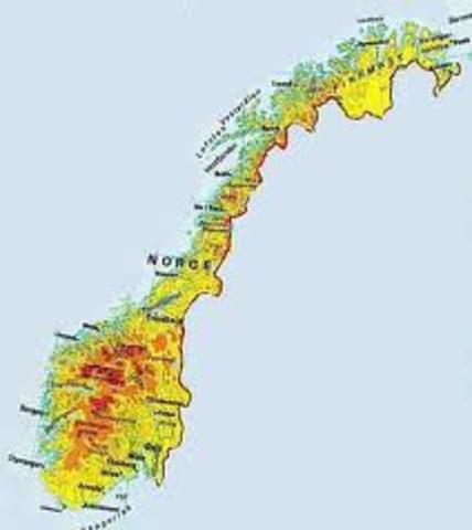 Danmark mister Norge