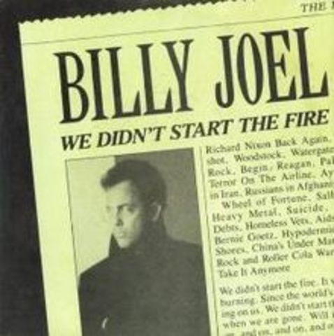 Billy Joel-We Didn't Start the Fire