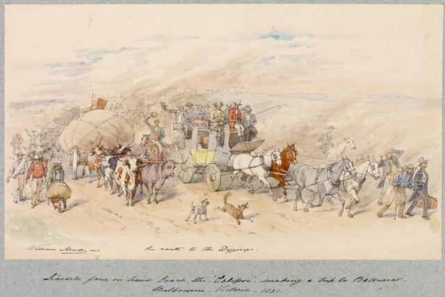 Pre gold rush: Transport