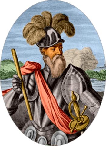 Francisco Pizarro y los Incas
