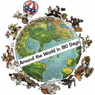 La vuelta al mundo en 80 días. timeline