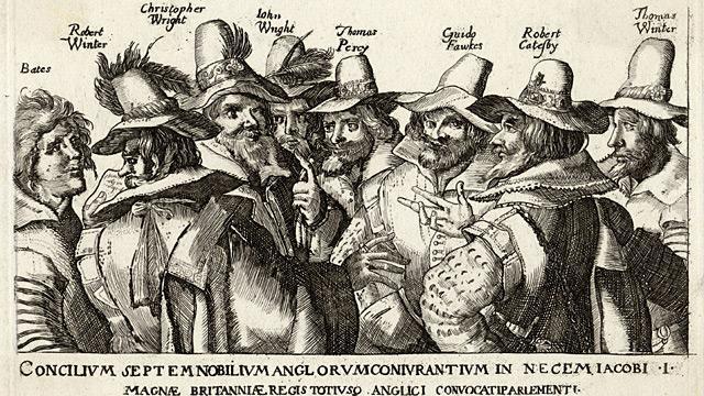 Gunpowder Plot executed