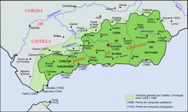 Los Reyes Católicos conquistaron el reino de Granada