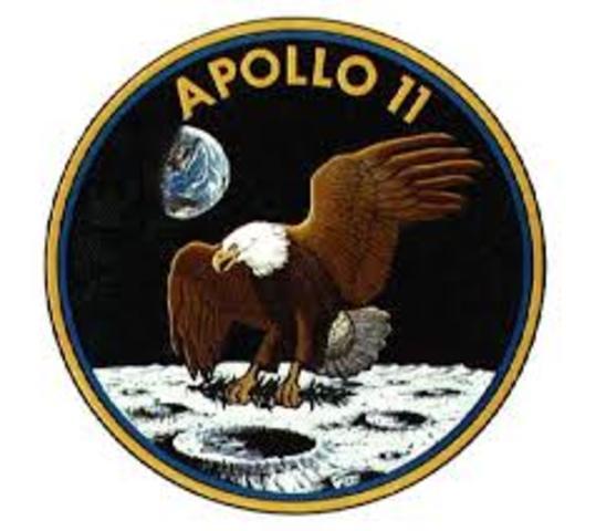 apolo 11 llega ala luna