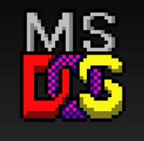 Microsoft presenta el sistema operativo MS-DOS (Microsoft Disk Operating System).