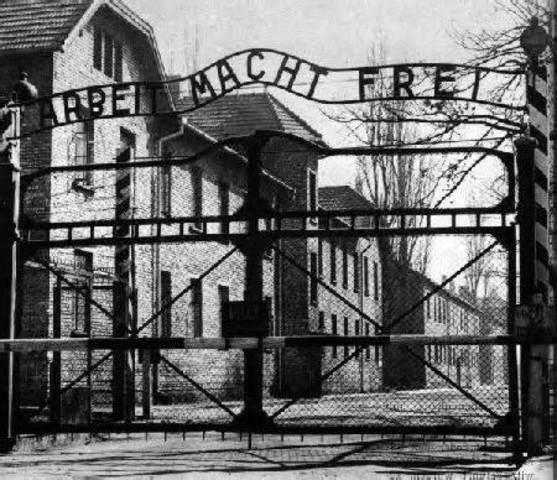 Auschwitz was Opened