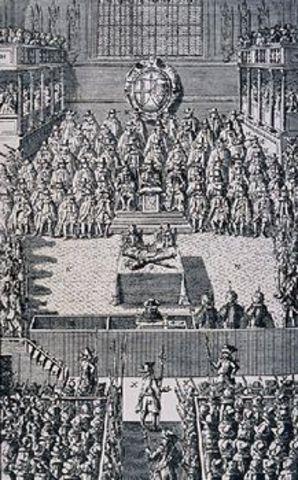 James Dissolved Parliament