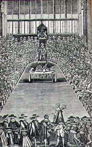 Beginning of Long Parliament