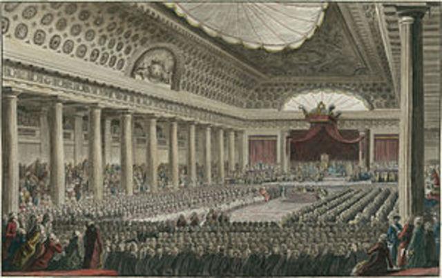 Louis XVI calls meeting of the Estates-General