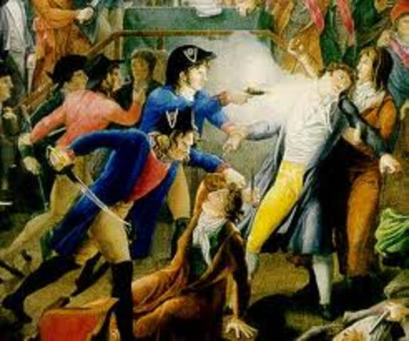 The National Convention arrested Robespierre.