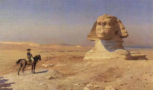 Napoleon begins his Egyptian campaign with an army of 38,000