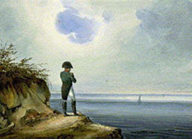 Napolean exiled to Saint Helena