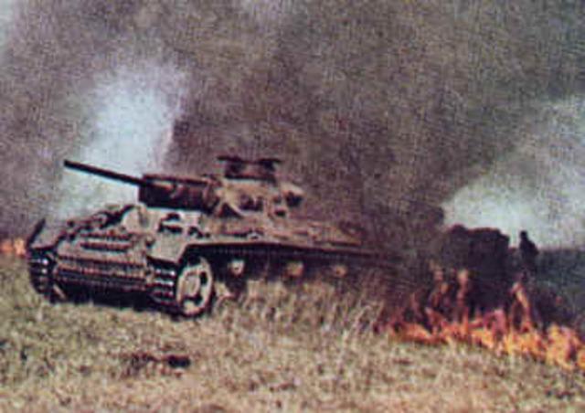 The Germans surrender