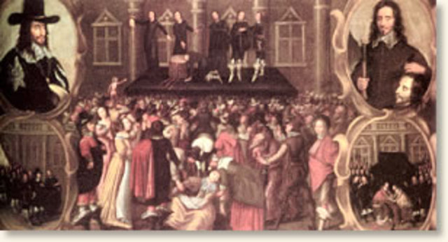 Execution of Charles the 1st