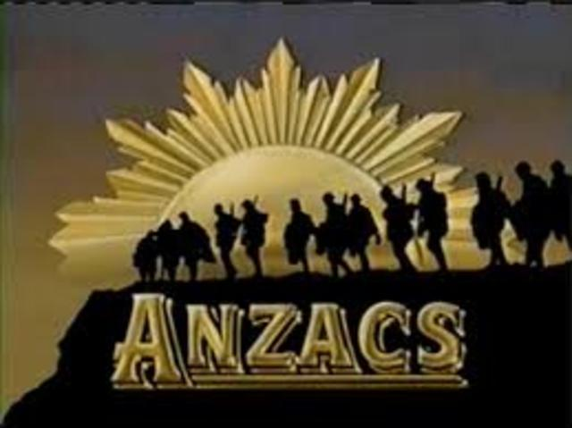 The ANZACs have been formed !
