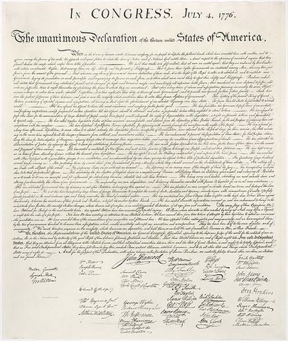 American Declatation Of Independace