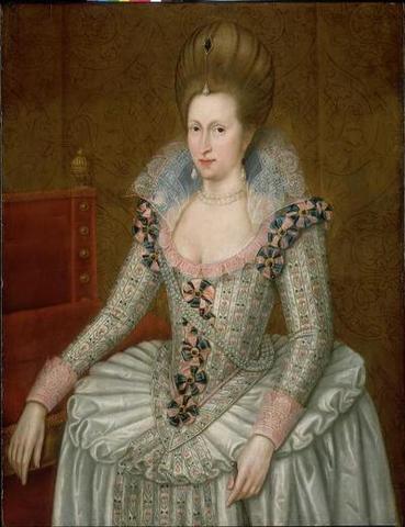 King James I Married Queen Anne of Denmark
